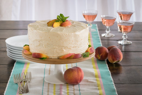 Old-Fashioned Peach Cake