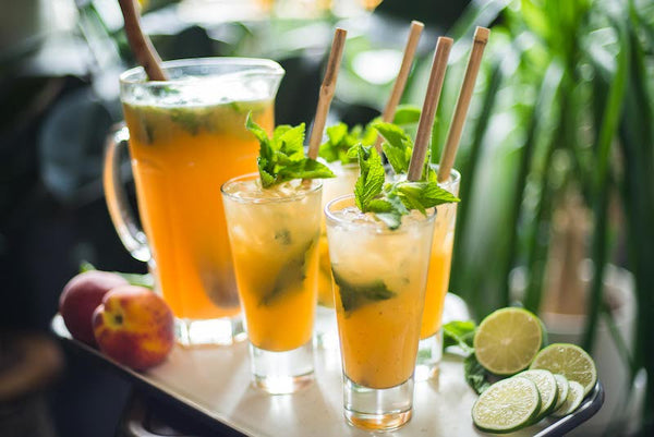 Party Peach Mojitos