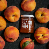 12 Fresh Peaches + Jam