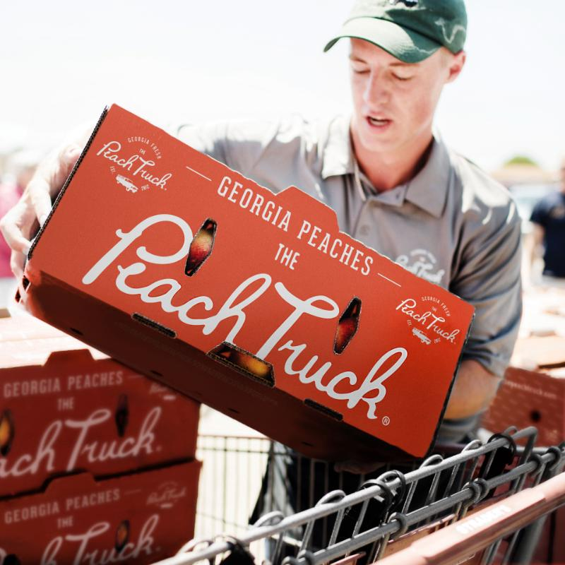 The Peach Truck | Fresh Georgia Peaches | The Peach Truck