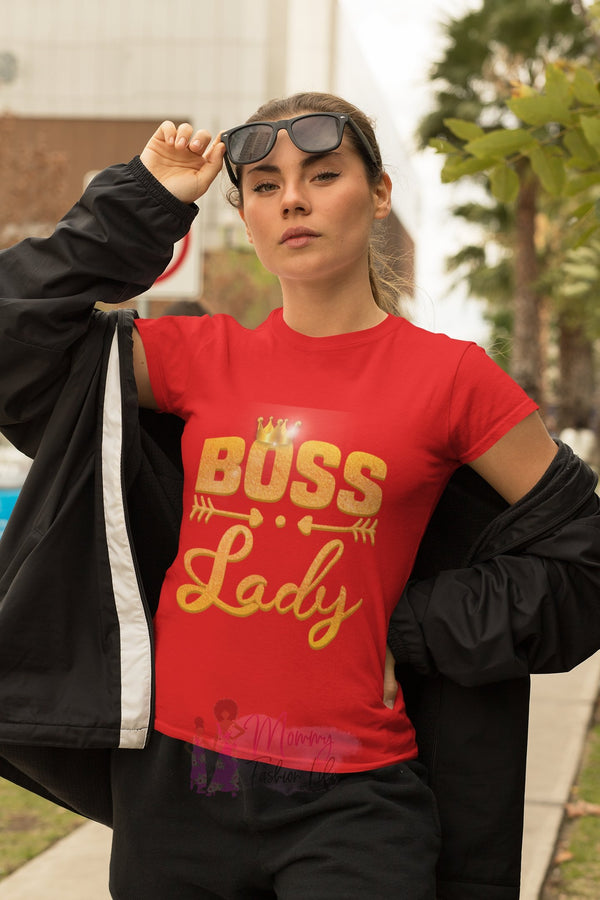Boss lady t-shirt - Mommy Fashion Life