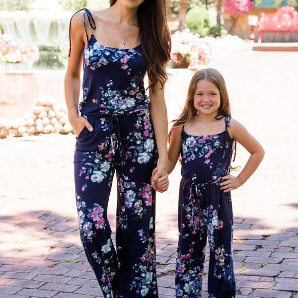 Flower Power Jumpsuit - Mommy Fashion Life