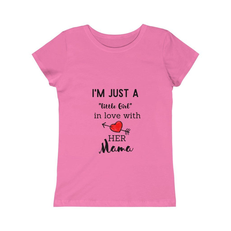 Girls Princess Tee - Mommy Fashion Life