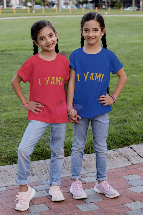I Yam T-Shirt - Mommy Fashion Life