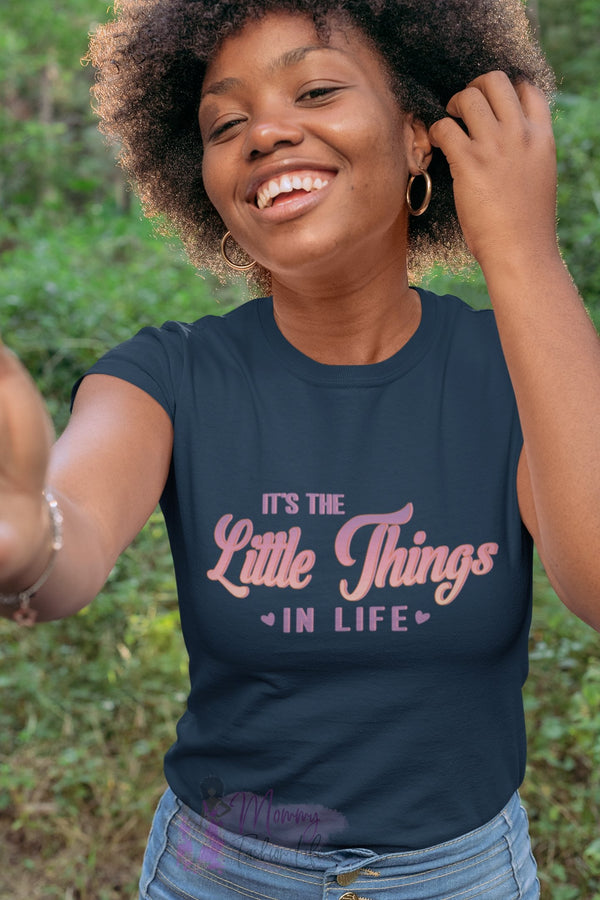 Little Things t-shirt - Mommy Fashion Life