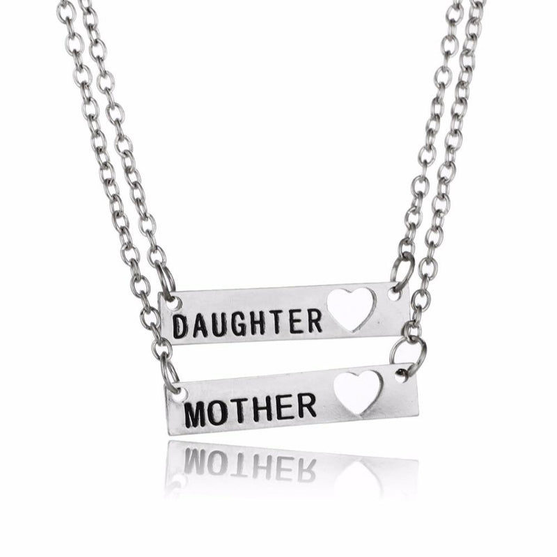 Love Heart Plate Chain - Mommy Fashion Life