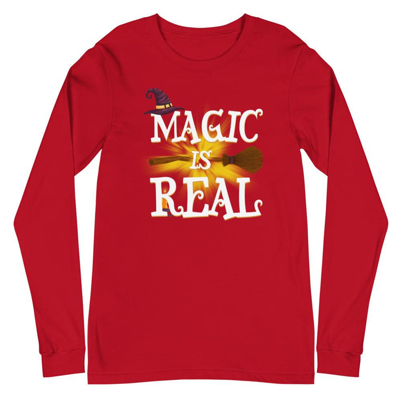 Magic Is Real Unisex Long Sleeve Tee - Mommy Fashion Life