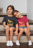 Mini Boss T-Shirt - Mommy Fashion Life
