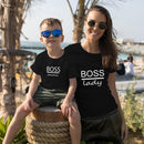 Mom Meets Boss Baby Tee - Mommy Fashion Life