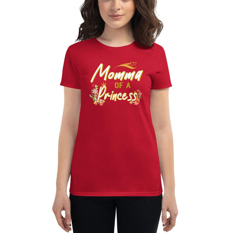 Momma princess t-shirt - Mommy Fashion Life