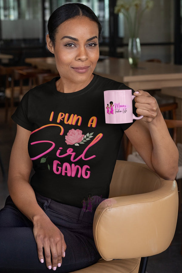Run girl gang t-shirt - Mommy Fashion Life
