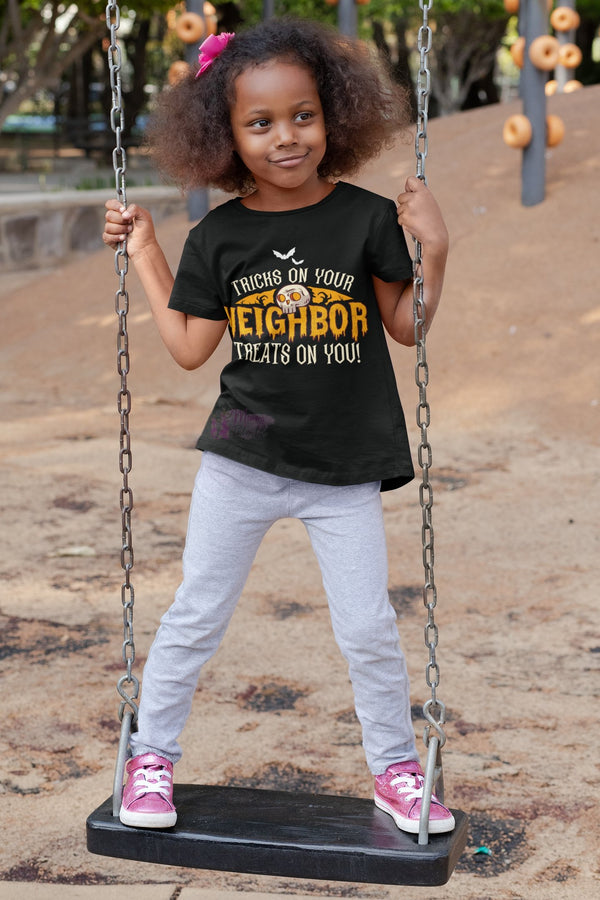 Tricks & Treats Kids Tee - Mommy Fashion Life