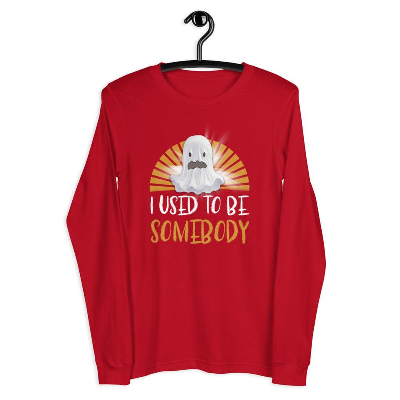 Used Somebody Boo Unisex Long Sleeve Tee - Mommy Fashion Life