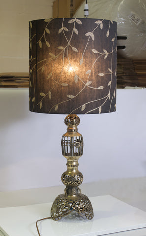 I am so thrilled with the lamp - thank you so much. It looks stunning and I will certainly spread the word about your wonderful shades and products. I will definitely be back soon!  Lou