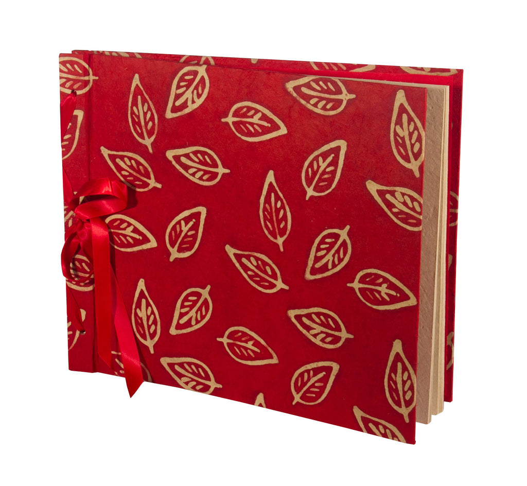 Photo Album Extra large - Batik Leaf - Photo Albums - Anglesey Paper Company  - 1