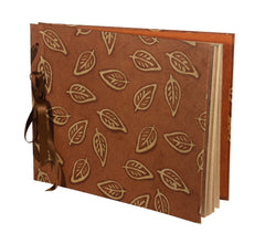 Photo Album Extra large - Batik Leaf - Photo Albums - Anglesey Paper Company  - 2