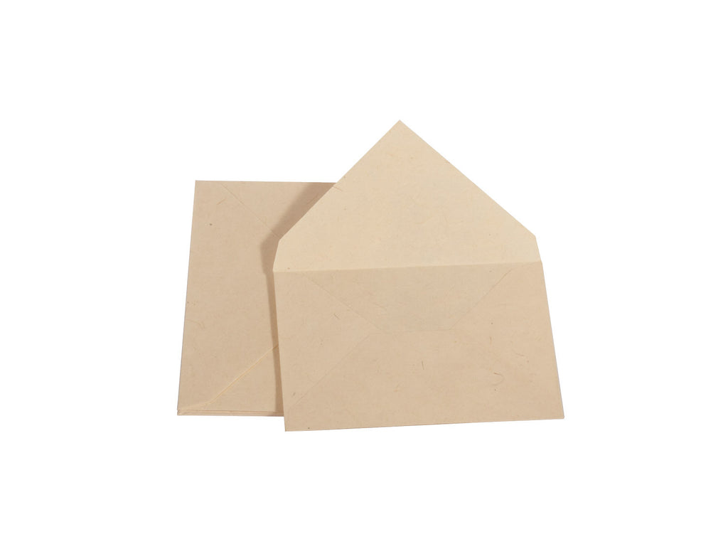 Handmade A6 Lokta Envelopes - Pack of 10 - Stationery Set - Anglesey Paper Company  - 1