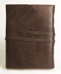 Large Buffalo Leather Journal - Leather Journal - Anglesey Paper Company  - 3
