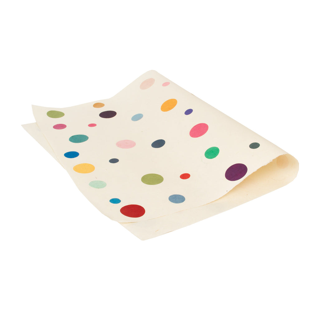 Gift Wrap - White Polka Dots - Gift Wrap - Anglesey Paper Company  - 1