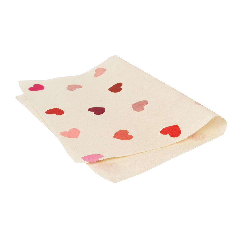 Gift Wrap - Pink Hearts - Gift Wrap - Anglesey Paper Company  - 1