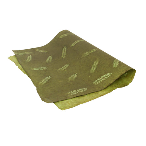 Gift Wrap - Green Fern