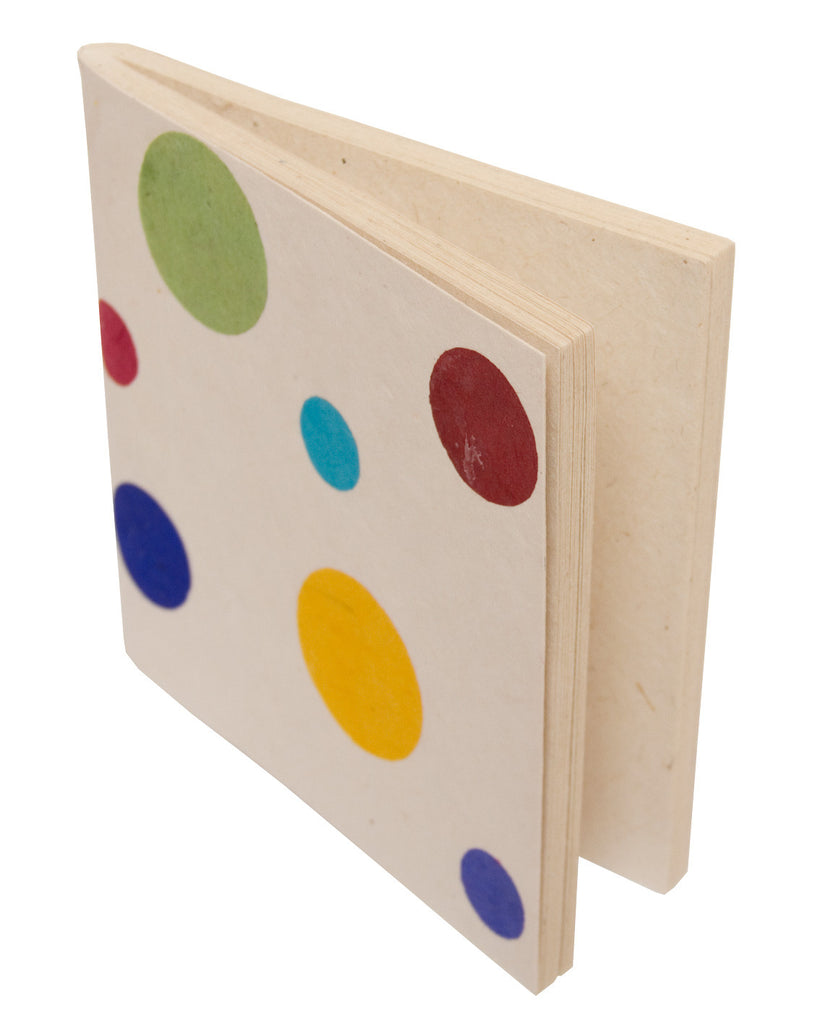 Soft cover Notebook - Polka White - Notebooks - Anglesey Paper Company  - 1