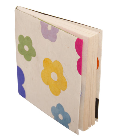 Soft Cover Notebook - White Daisy
