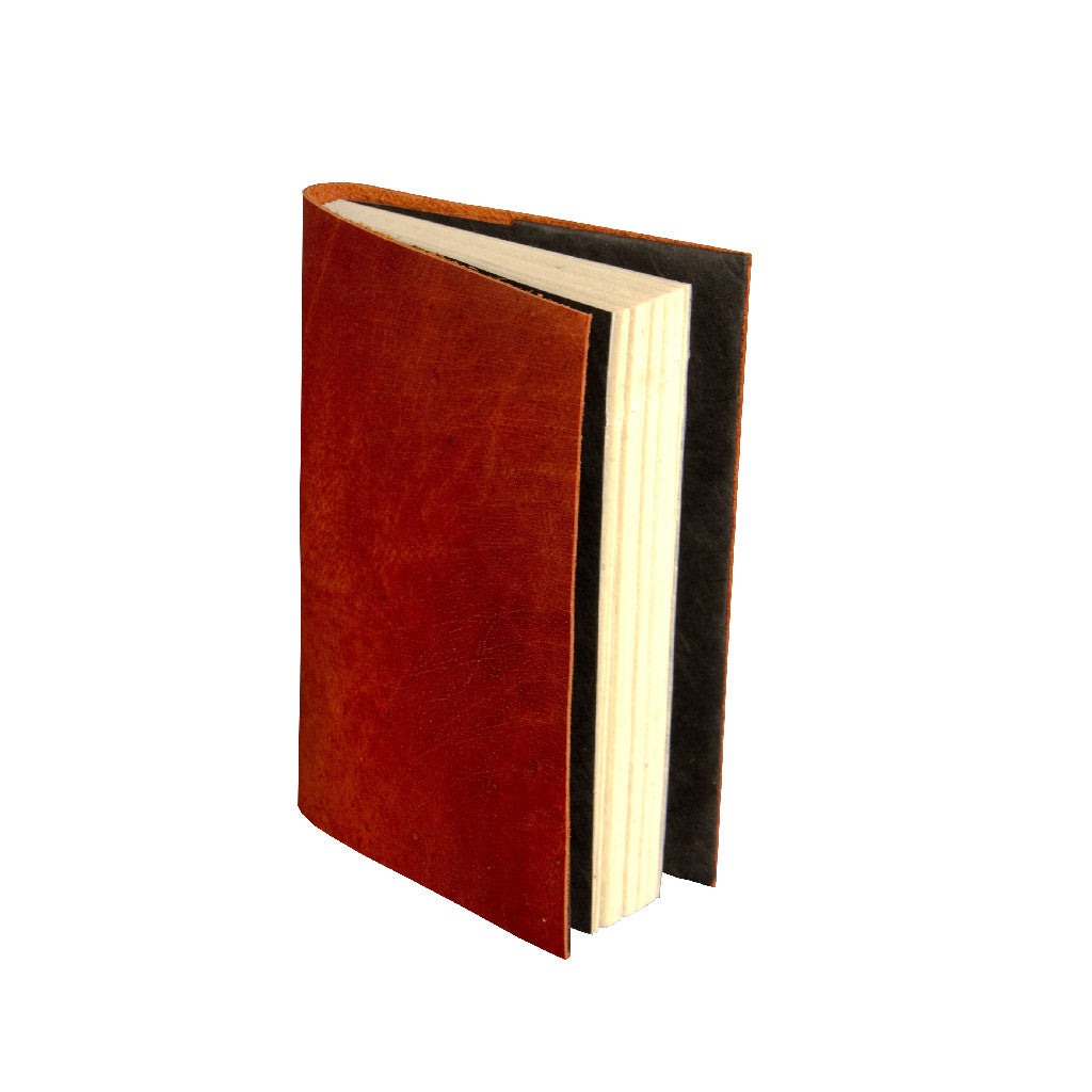 Small Goat Leather Journal - Leather Journal - Anglesey Paper Company