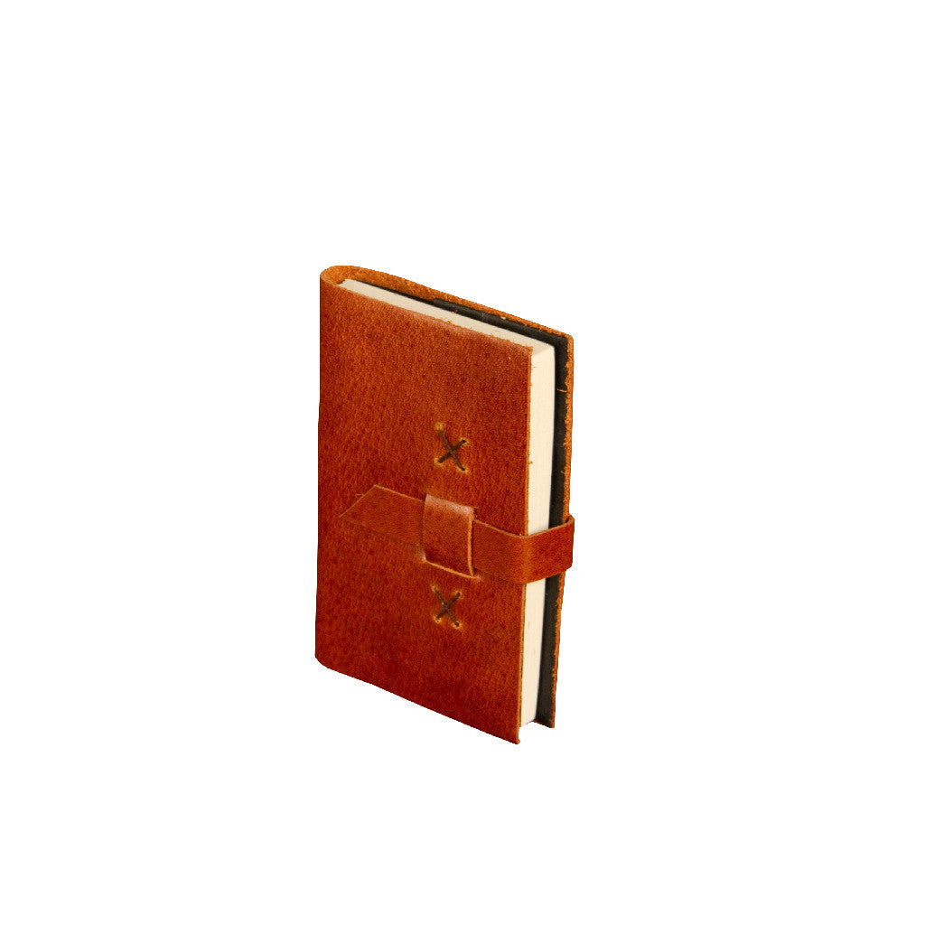 Mini Goat Leather Journal - Leather Journal - Anglesey Paper Company