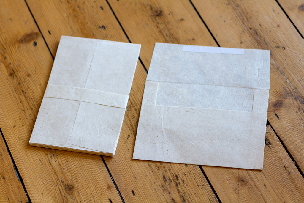Handmade A5 Lokta Envelopes - Pack of 10