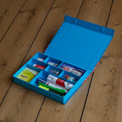 Desk Organiser - Teal - Includes contents