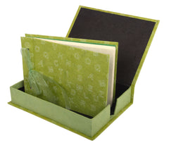 Boxed Photo Album - Letters Screen Printing - Photo Albums - Anglesey Paper Company  - 3