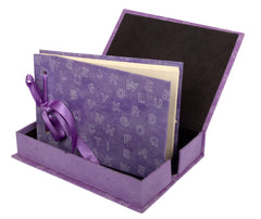 Boxed Photo Album - Letters Screen Printing - Photo Albums - Anglesey Paper Company  - 1