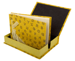 Boxed Photo Album - Letters Screen Printing - Photo Albums - Anglesey Paper Company  - 4