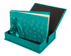 Boxed Photo Album - Letters Screen Printing - Photo Albums - Anglesey Paper Company  - 6