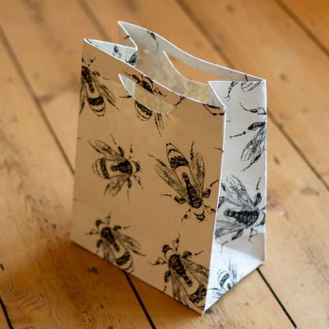 Large Gift Bag - Bees