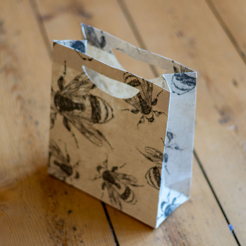 Medium Gift Bag - Bees