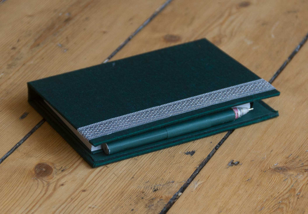 Memo Pad Green with Pen