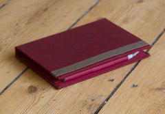 Memo Pad Burgundy with Pen