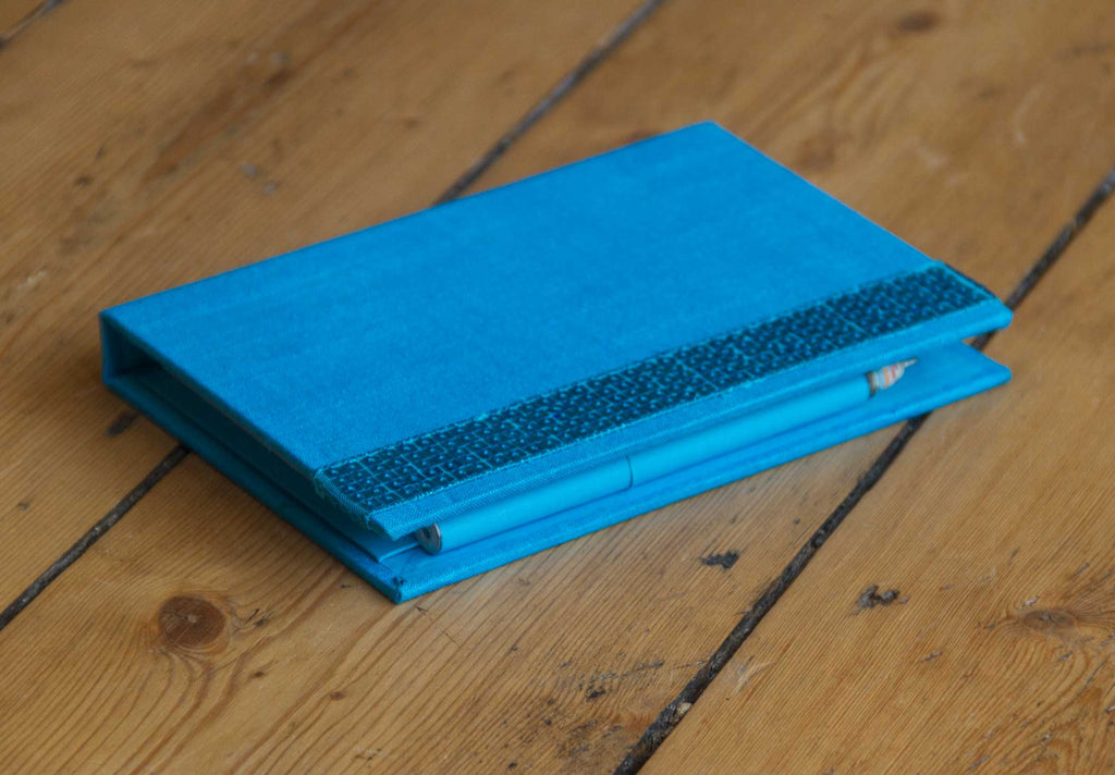 Memo Pad Teal with Pen
