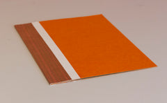 A4 Flat File with Pouch - Orange