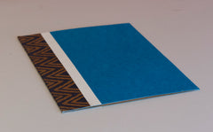 A4 Flat File with Pouch - Blue