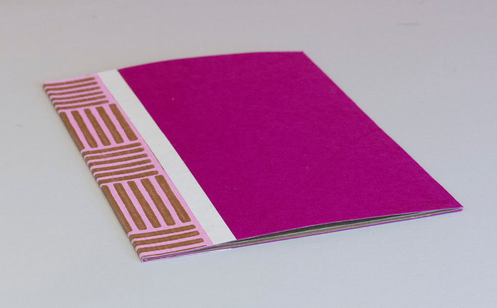 A4 Flat File with Pouch - Pink