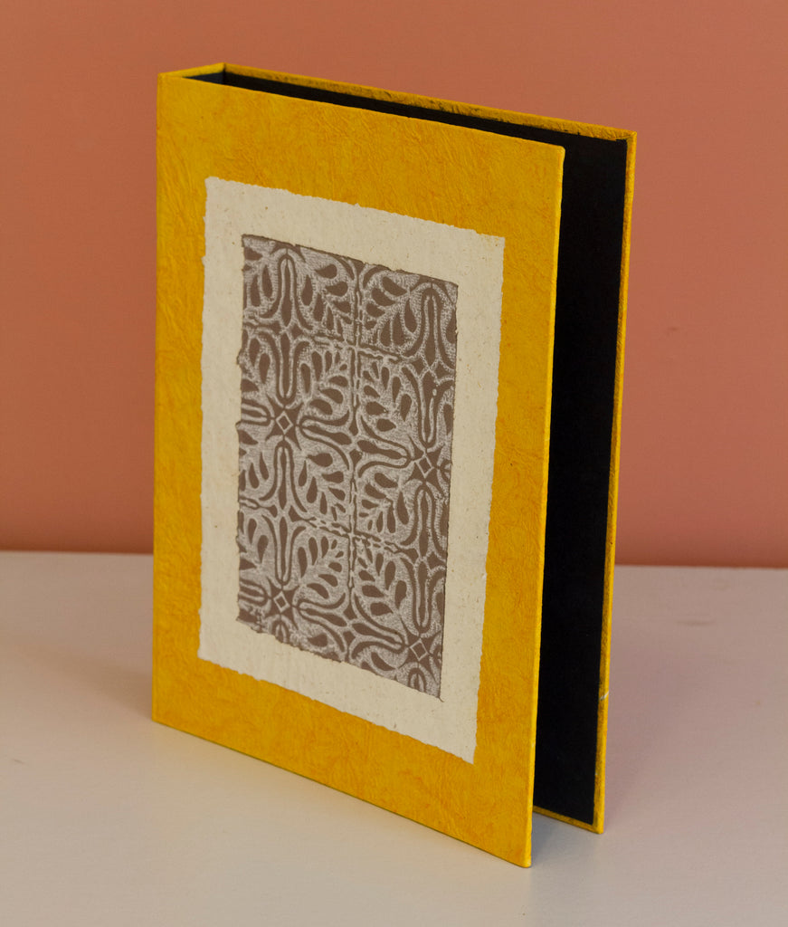 A4 Ring Binder - Yellow