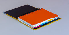 Spiral Notebook - Yellow