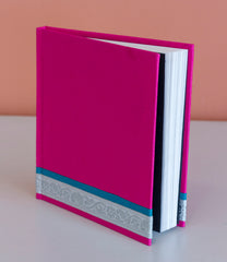 Square Hardcover Notebook - Pink