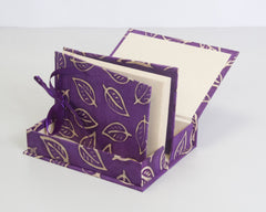 Boxed Photo Album - Batik Leaf - Photo Albums - Anglesey Paper Company  - 6