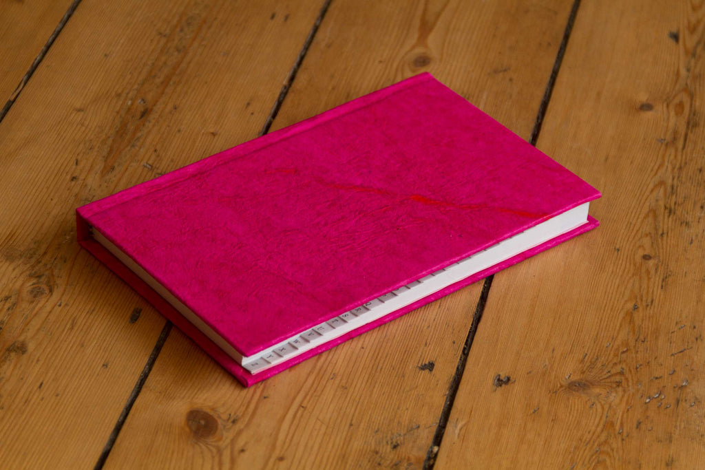 Telephone and Address Book ~ A to Z ~ Pink