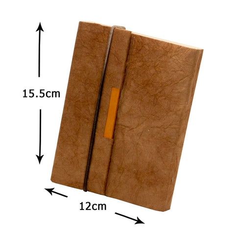 Trekker Journal - Brown Leather Effect