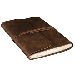 Extra Large Buffalo Leather Journal - Leather Journal - Anglesey Paper Company  - 1